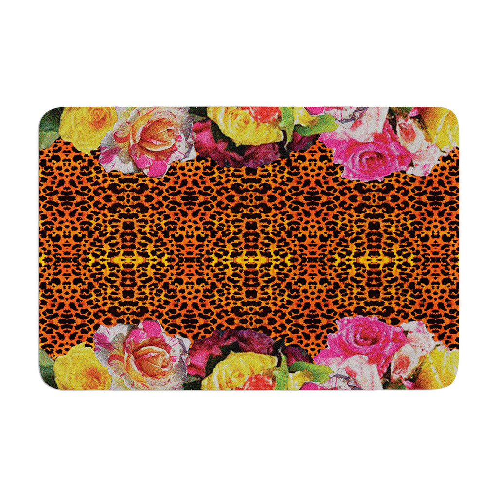 "Nina May ""New Rose Eleo"" Memory Foam Bath Mat - KESS InHouse"