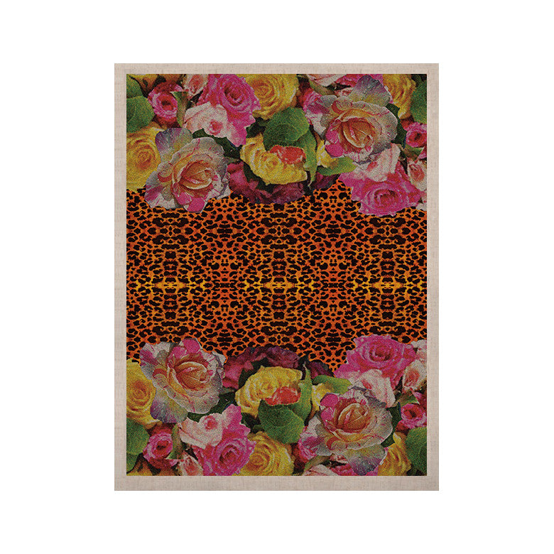 "Nina May ""New Rose Eleo"" KESS Naturals Canvas (Frame not Included) - KESS InHouse  - 1"