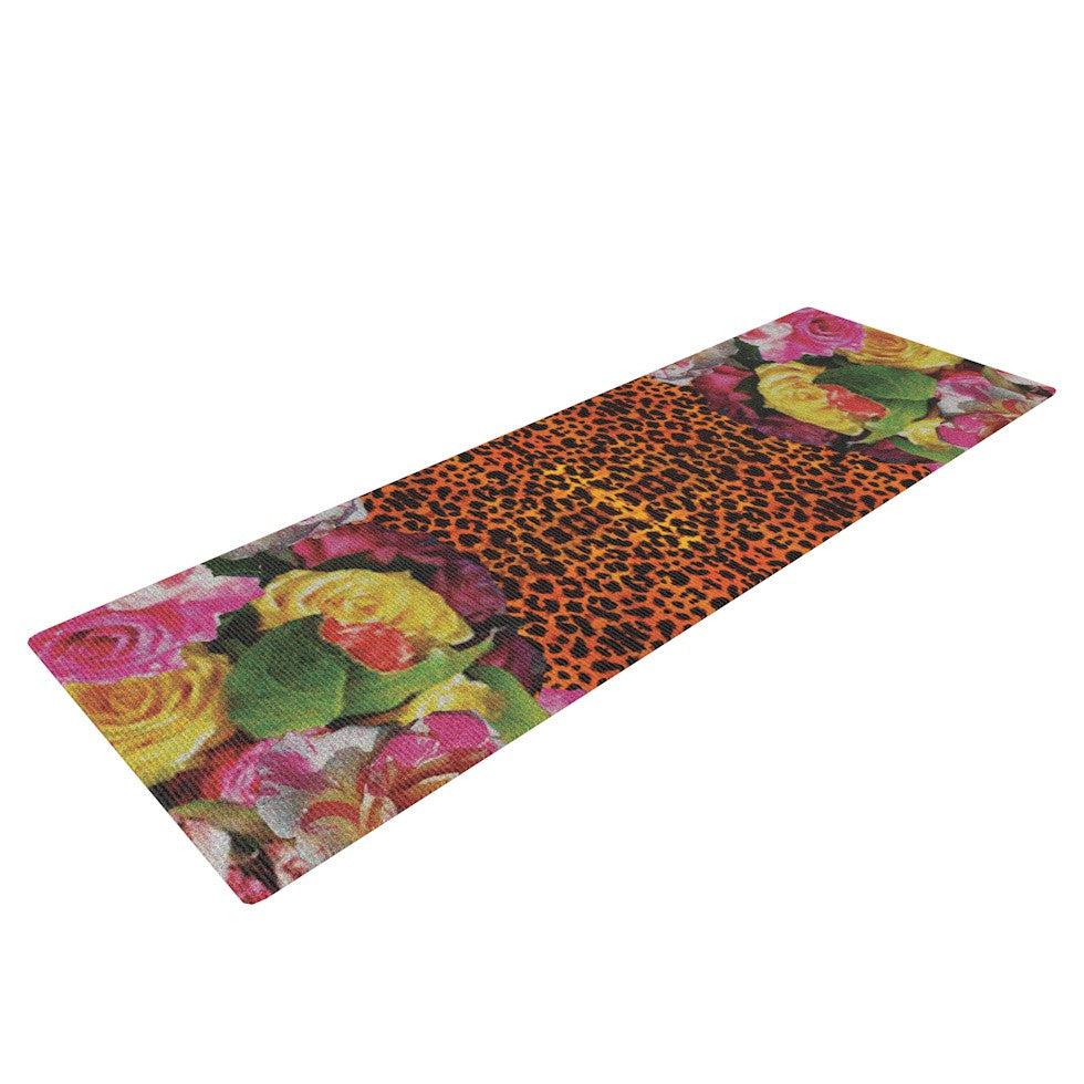 "Nina May ""New Rose Eleo"" Yoga Mat - KESS InHouse  - 1"