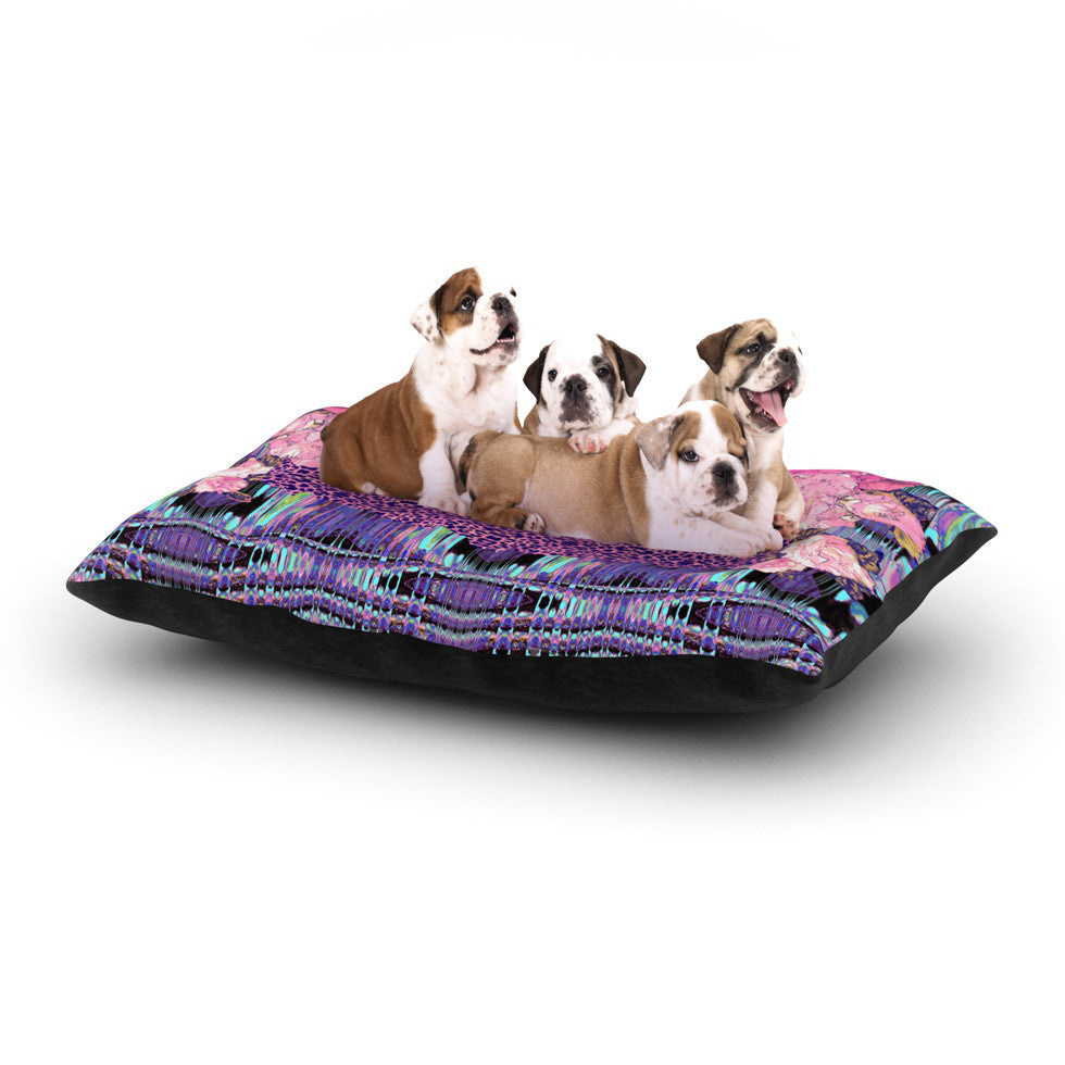 "Nina May ""Lepparo"" Dog Bed - KESS InHouse  - 1"