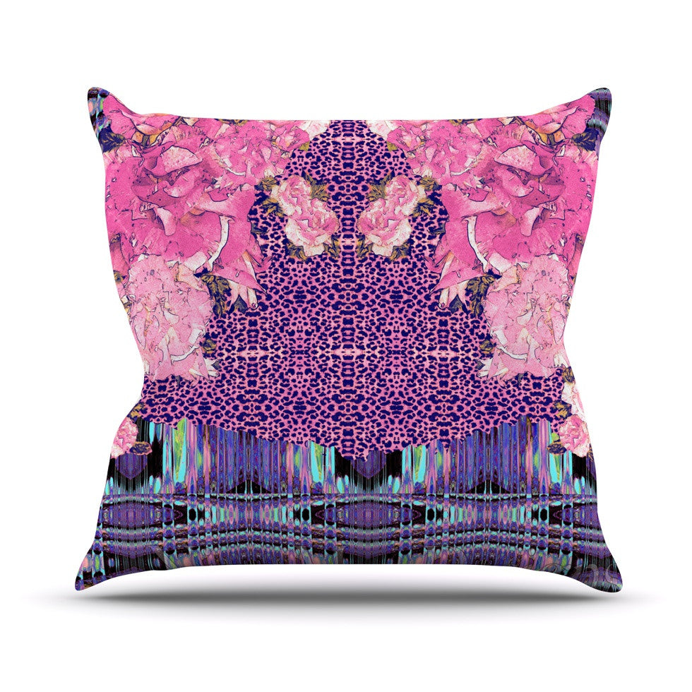 "Nina May ""Lepparo"" Throw Pillow - KESS InHouse  - 1"