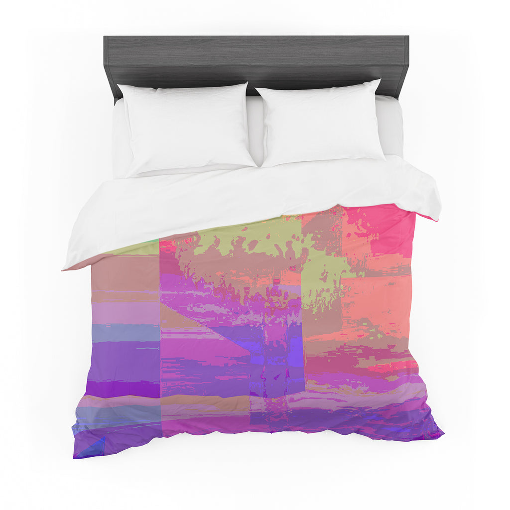 "Nina May ""Impermiate Poster"" Cotton Duvet"