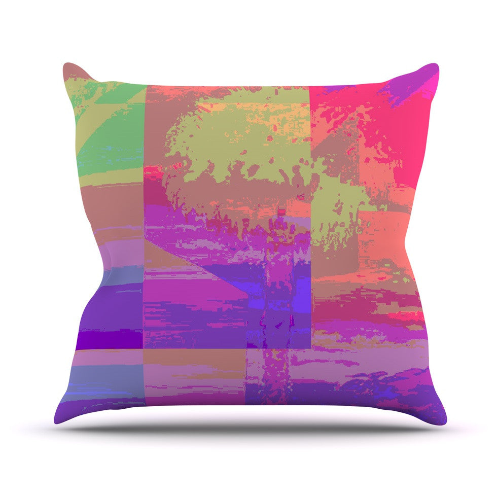 "Nina May ""Impermiate Poster"" Throw Pillow - KESS InHouse  - 1"