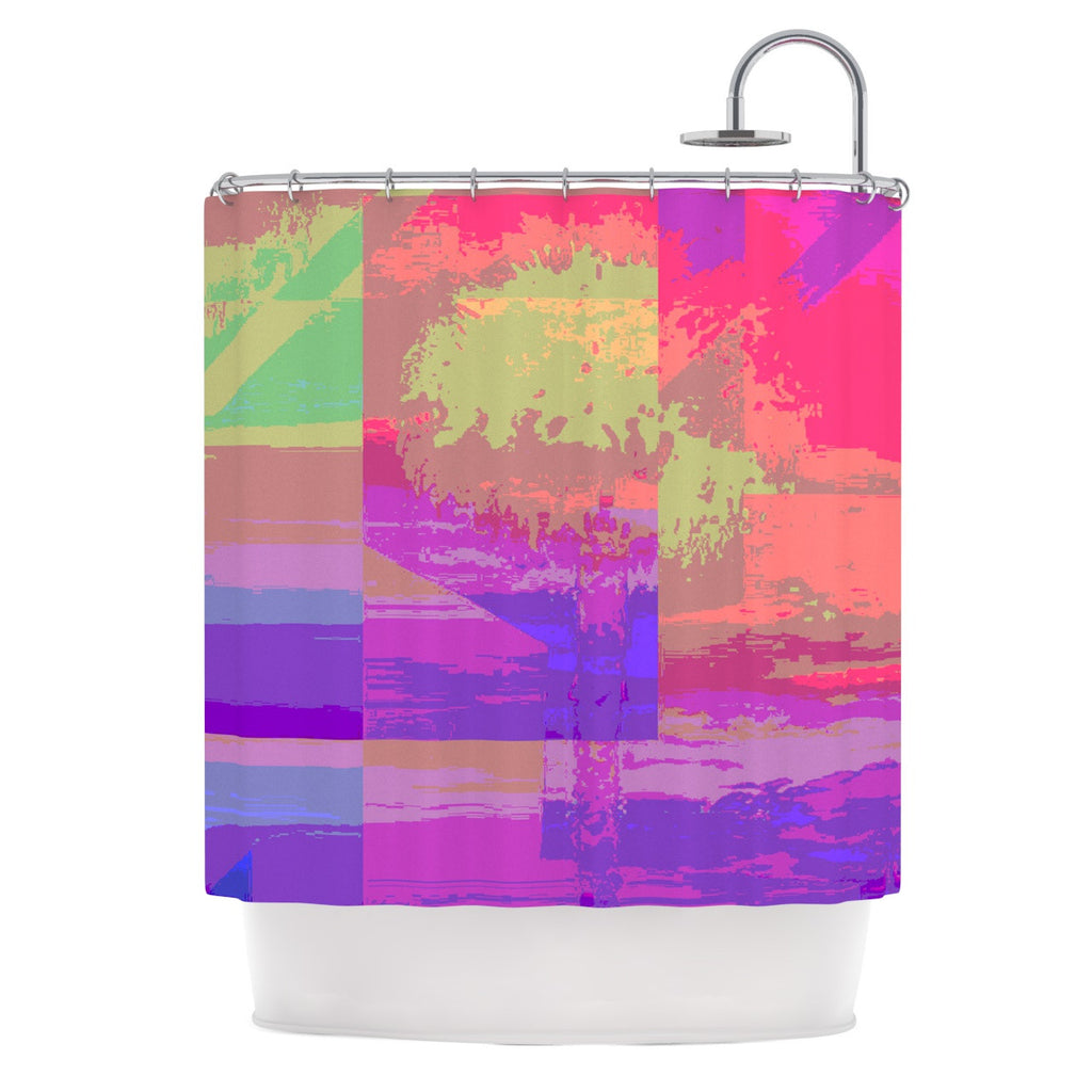 "Nina May ""Impermiate Poster"" Shower Curtain - KESS InHouse"