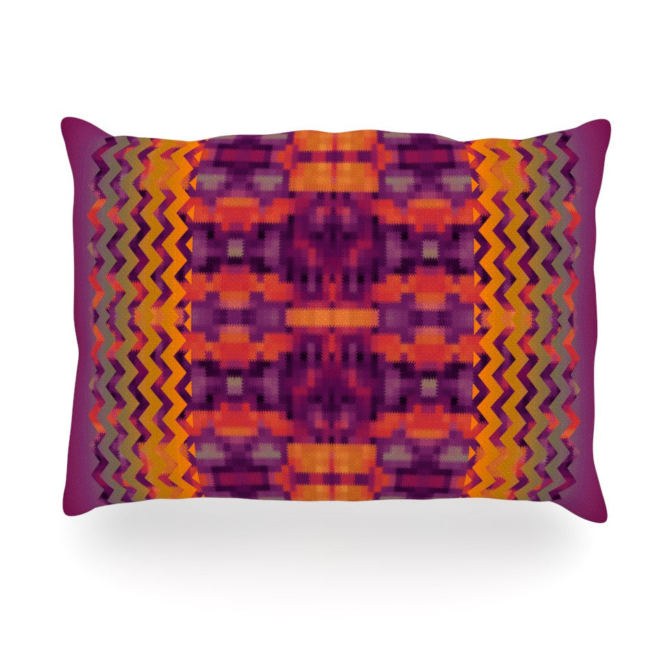 "Nina May ""Medeasetta"" Oblong Pillow - KESS InHouse"