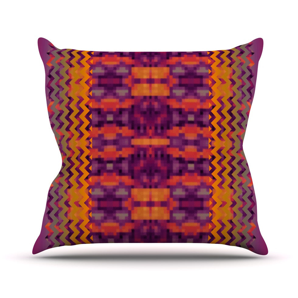 "Nina May ""Medeasetta"" Throw Pillow - KESS InHouse  - 1"