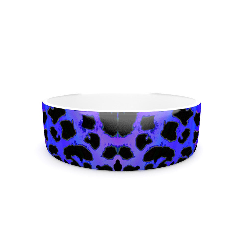 "Nina May ""Cerruda Leora"" Purple Pink Pet Bowl - KESS InHouse"
