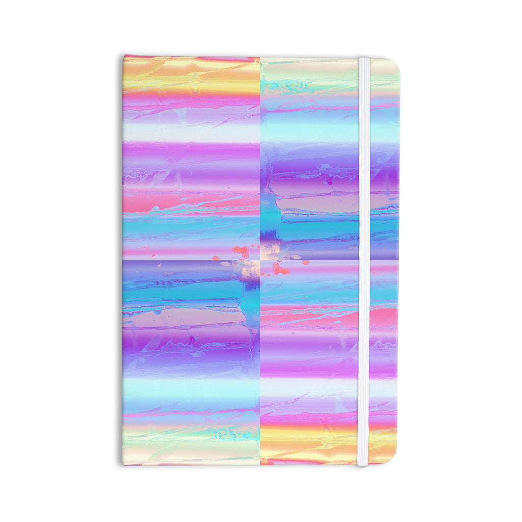 "Nina May ""Drip Dye"" Paint Pastel Everything Notebook - KESS InHouse  - 1"