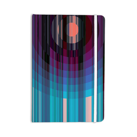 "Nina May ""Nova Sun"" Blue Geometric Everything Notebook - Outlet Item"
