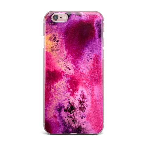 "Nina May ""Rosewater Sun"" Pink Purple iPhone Case - Outlet Item - KESS InHouse"