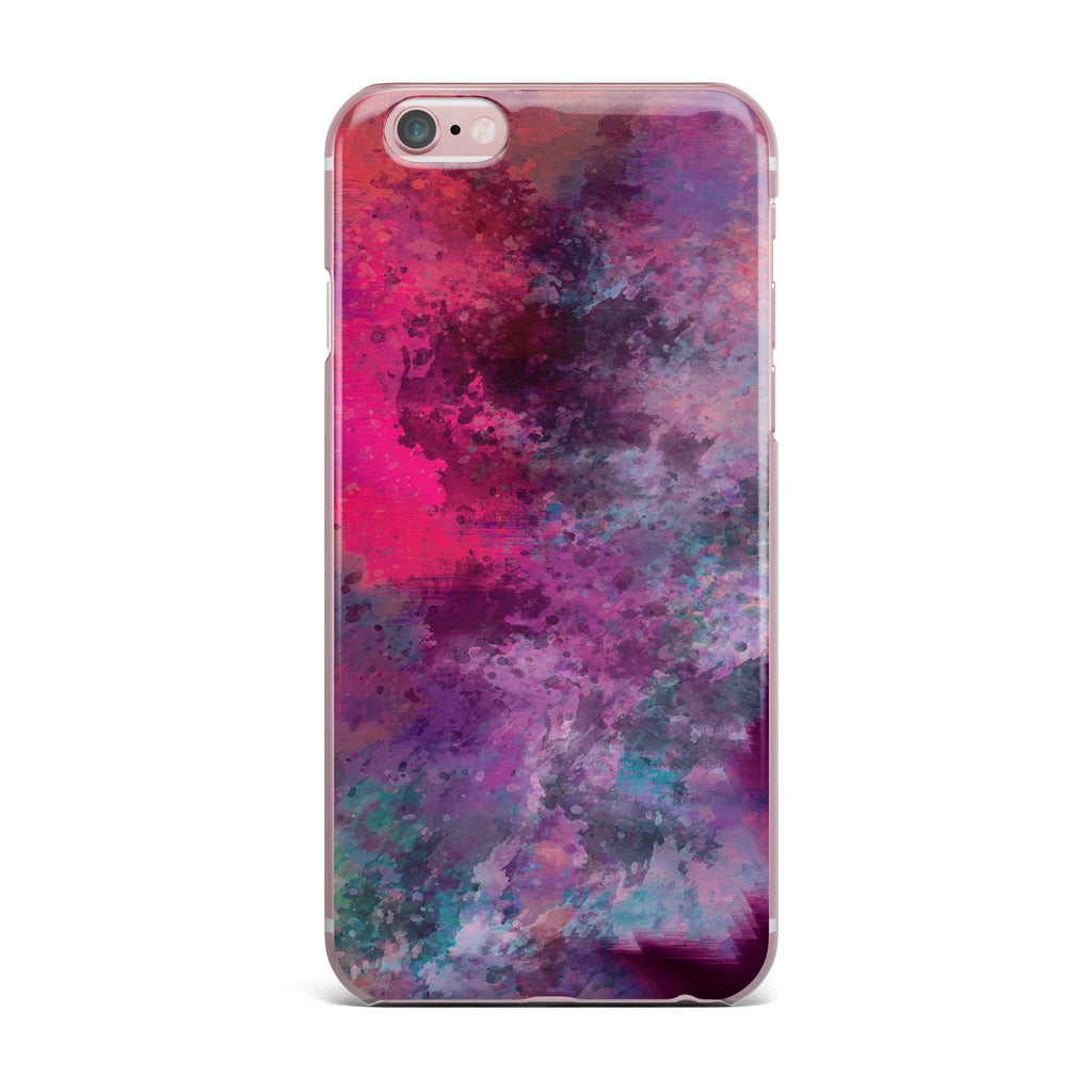 "Nina May ""Mineral Pink "" Purple Watercolor iPhone Case - KESS InHouse"