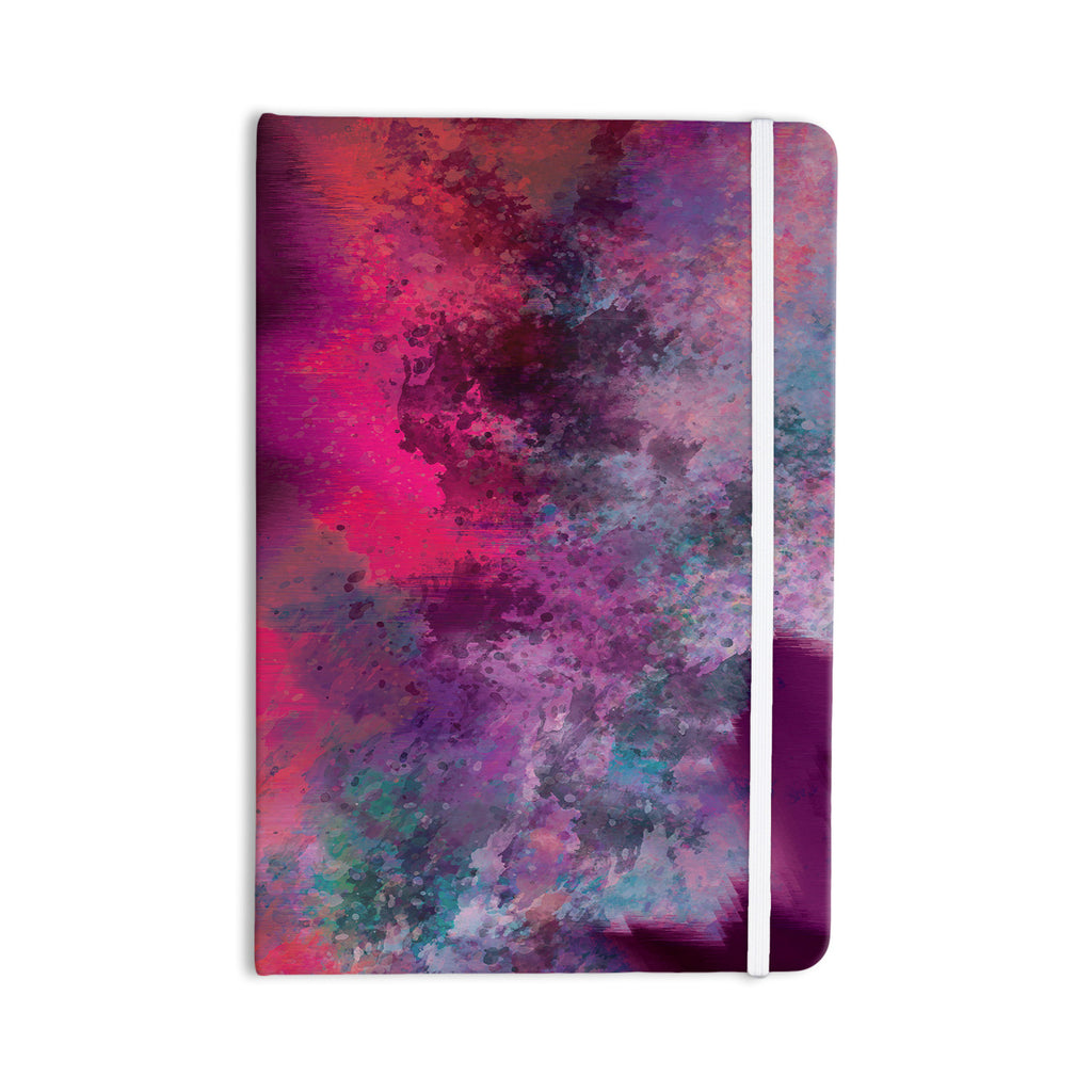 "Nina May ""Mineral Pink "" Purple Watercolor Everything Notebook - KESS InHouse  - 1"
