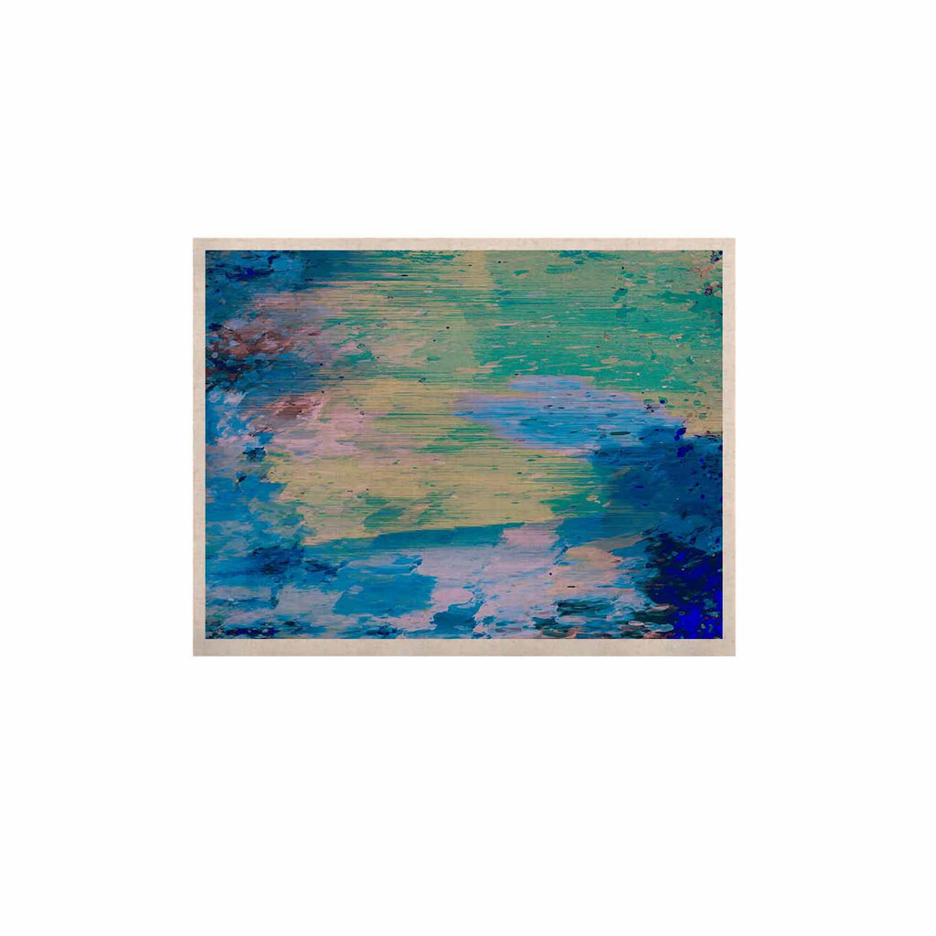 "Nina May ""Mineral Surf"" Blue Abstract KESS Naturals Canvas (Frame not Included) - KESS InHouse  - 1"