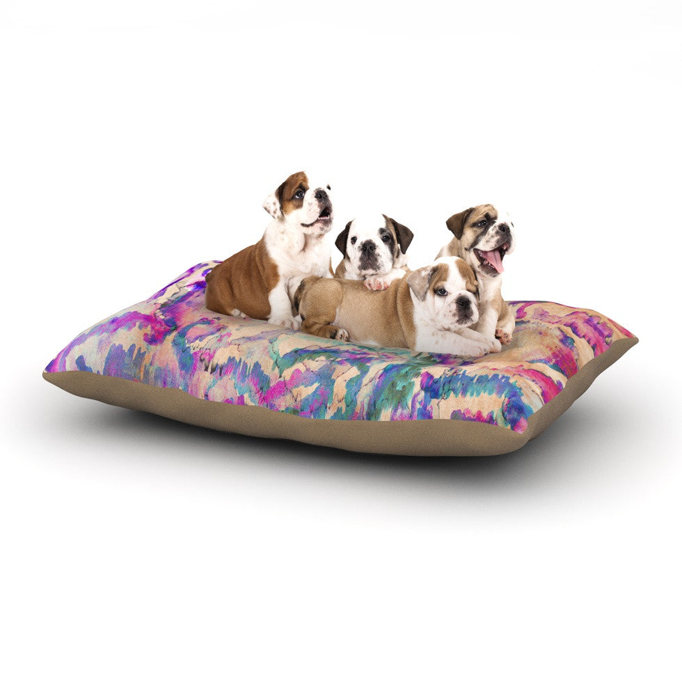 "Nikki Strange ""Weirdi Kat"" Dog Bed - KESS InHouse  - 1"