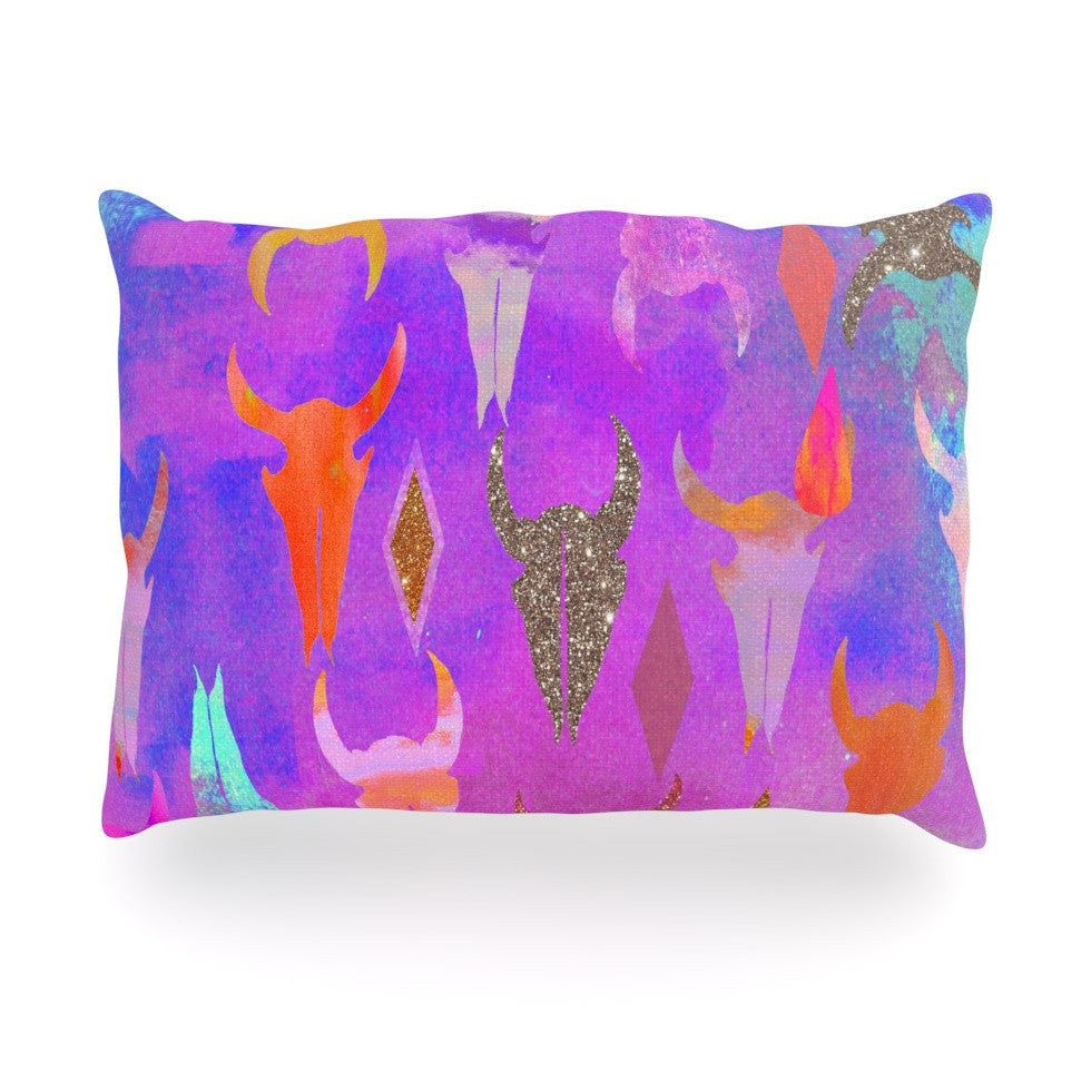 "Nikki Strange ""Rodeo"" Oblong Pillow - KESS InHouse"