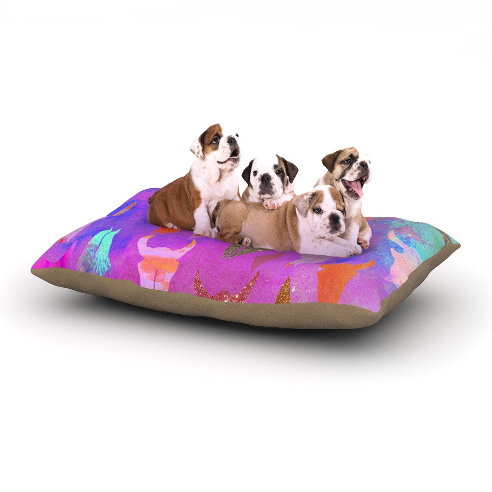 "Nikki Strange ""Rodeo"" Dog Bed - KESS InHouse  - 1"