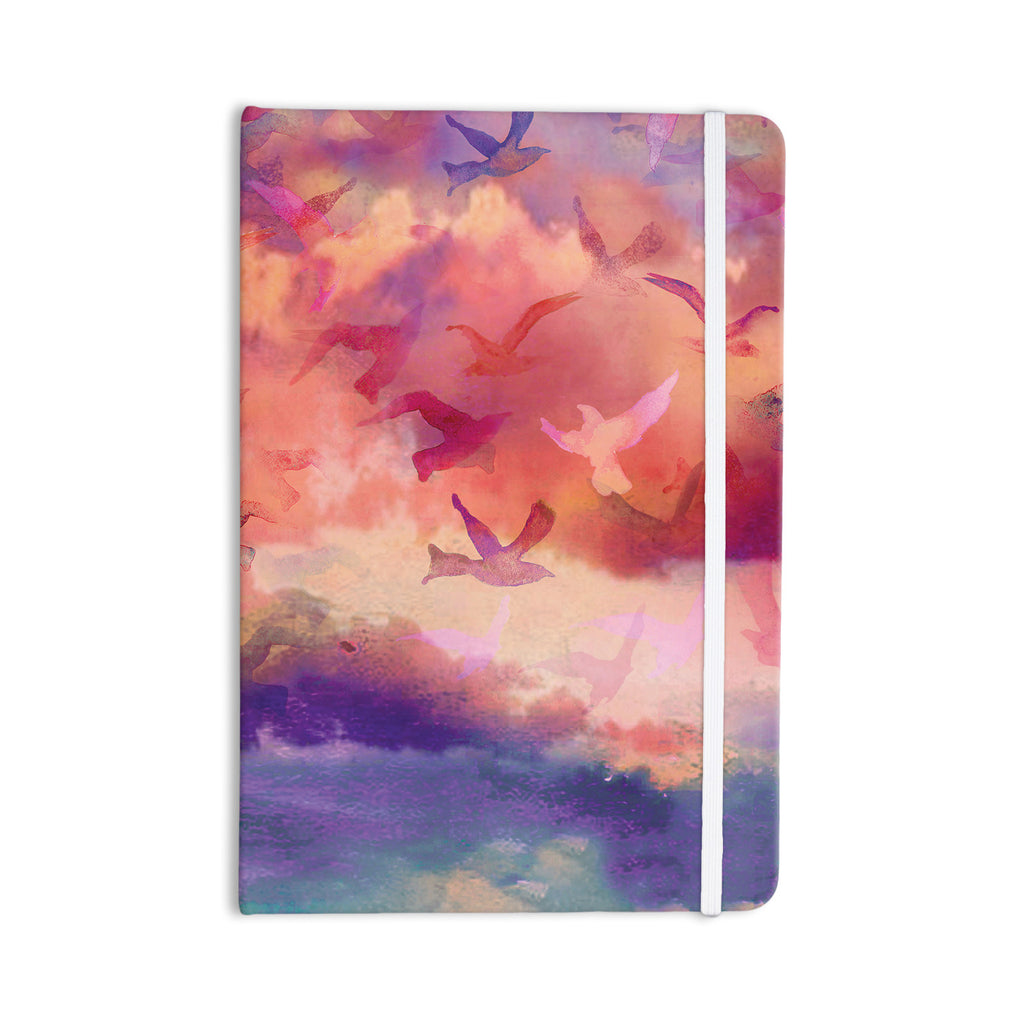 "Nikki Strange ""Souffle Sky"" Everything Notebook - KESS InHouse  - 1"