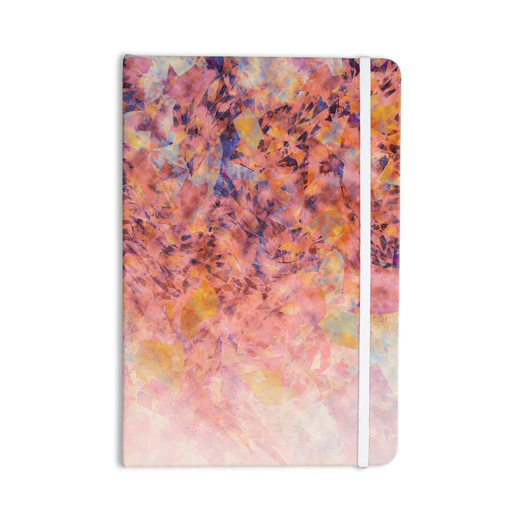 "Nikki Strange ""Blushed Geometric"" Everything Notebook - KESS InHouse  - 1"