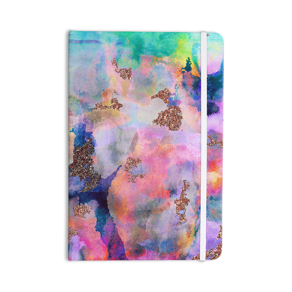 "Nikki Strange ""Sparkle Mist"" Everything Notebook - KESS InHouse  - 1"
