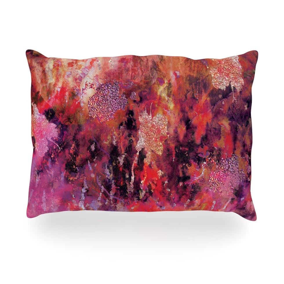 "Nikki Strange ""Indian City"" Oblong Pillow - KESS InHouse"