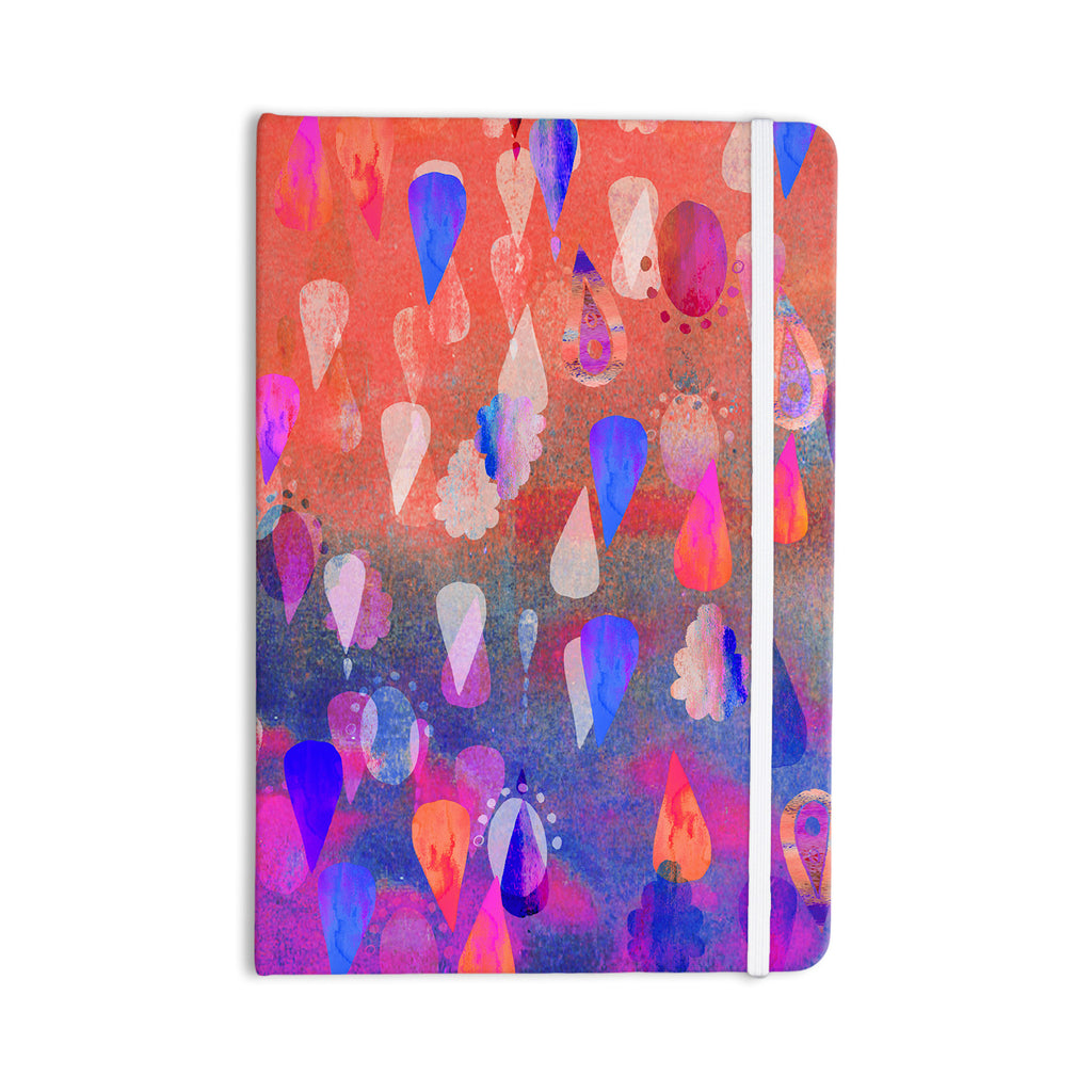 "Nikki Strange ""Bindi Dreaming"" Blue Pink Everything Notebook - KESS InHouse  - 1"