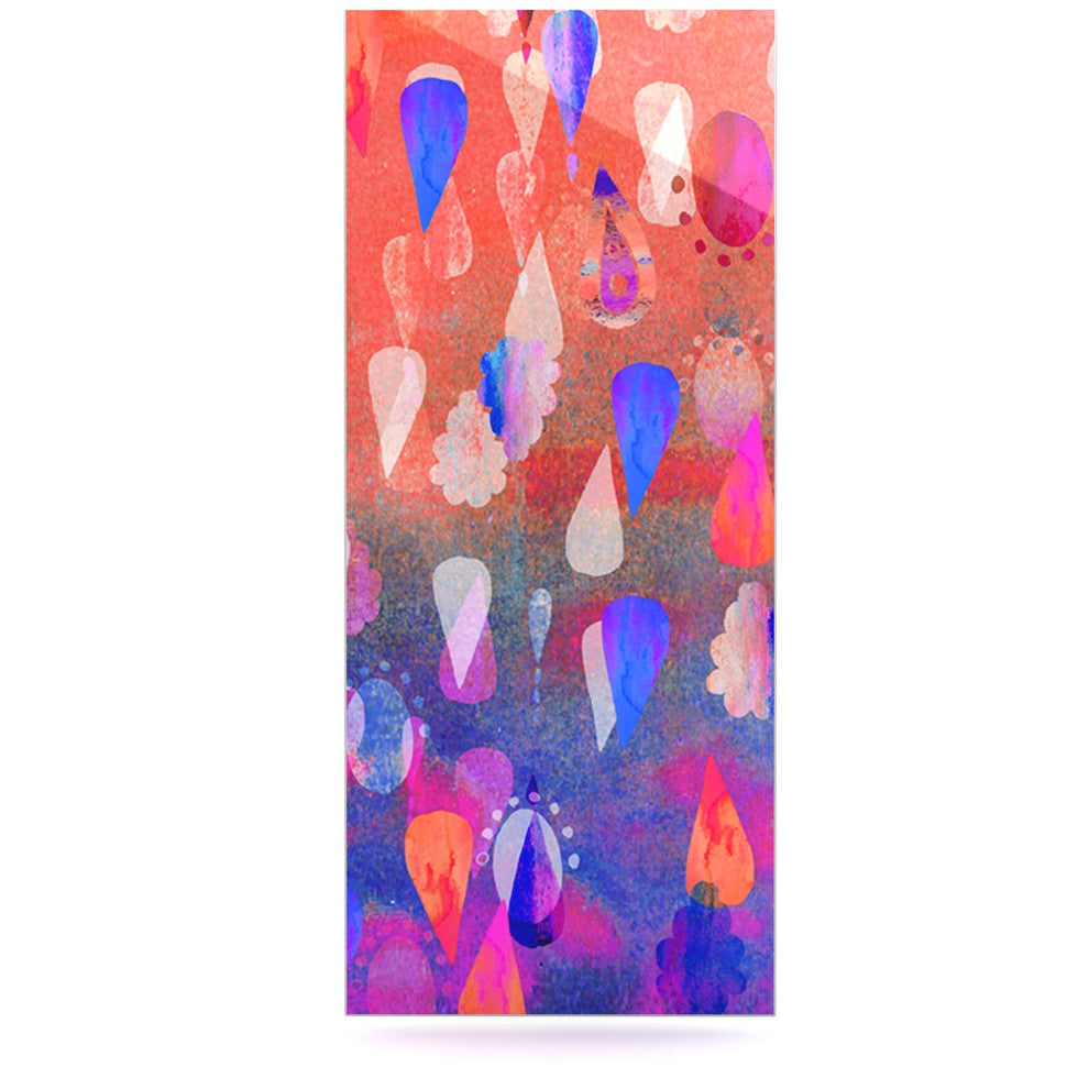"Nikki Strange ""Bindi Dreaming"" Blue Pink Luxe Rectangle Panel - KESS InHouse  - 1"