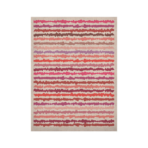 "Nandita Singh ""Blush Stripes"" Pink Striped KESS Naturals Canvas (Frame not Included) - KESS InHouse  - 1"