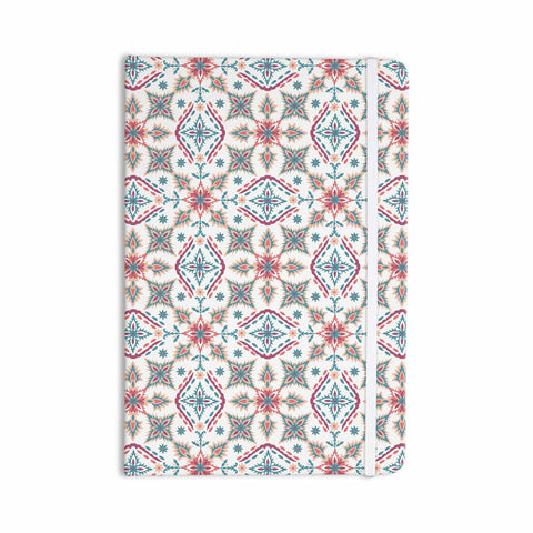 "Nandita Singh ""Moroccan Beauty"" Blue Coral Ethnic Arabesque Everything Notebook - KESS InHouse  - 1"
