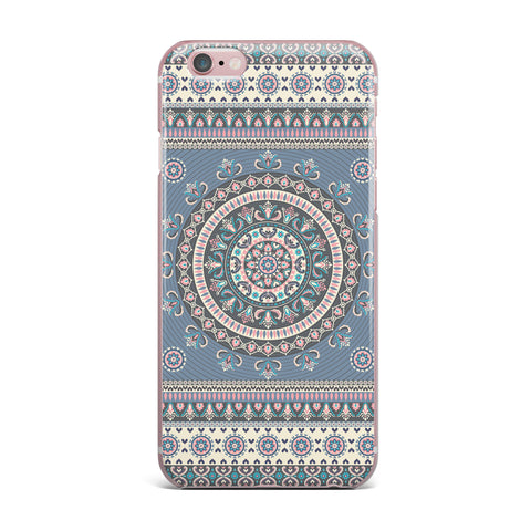 "Nandita Singh ""Chakra - Blue And Purple"" Blue Purple Digital iPhone Case"