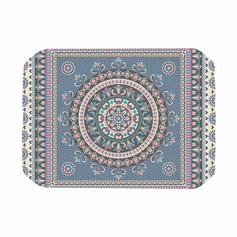 "Nandita Singh ""Chakra - Blue And Purple"" Blue Purple Digital Place Mat"