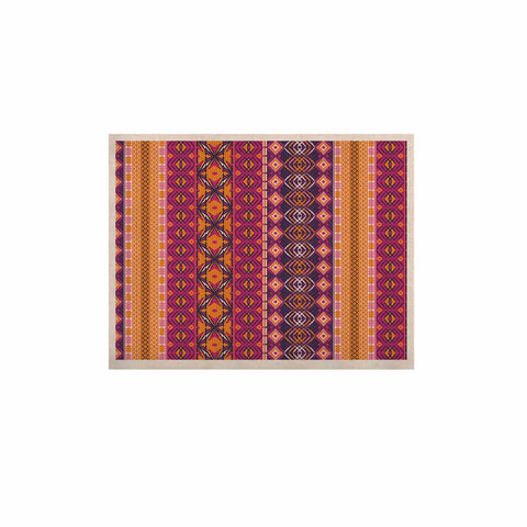 "Nandita Singh ""Banjara-Purple And Pink"" Purple Pink Digital KESS Naturals Canvas (Frame not Included)"
