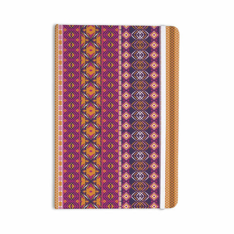 "Nandita Singh ""Banjara-Purple And Pink"" Purple Pink Digital Everything Notebook"