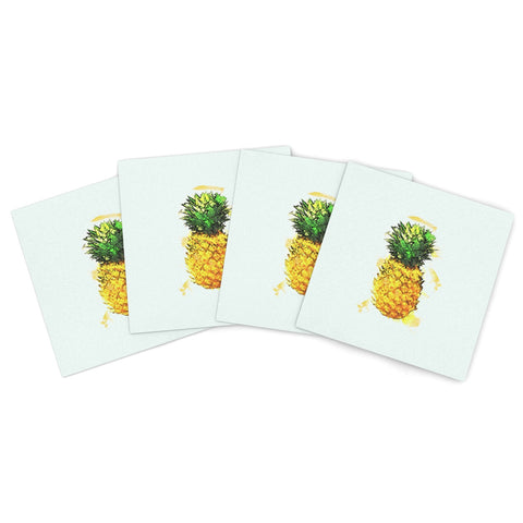 "Nina May ""Deco City""  Indoor/Outdoor Place Mat (Set of 4) - Outlet Item"