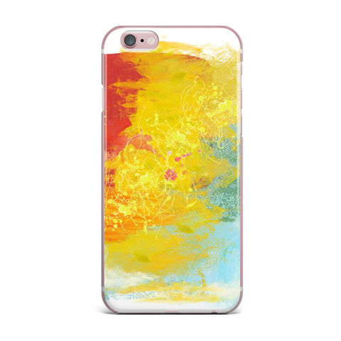 "Oriana Cordero ""Medley"" Colorful Paint iPhone Case - KESS InHouse"