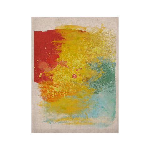 "Oriana Cordero ""Medley"" Colorful Paint KESS Naturals Canvas (Frame not Included) - KESS InHouse  - 1"