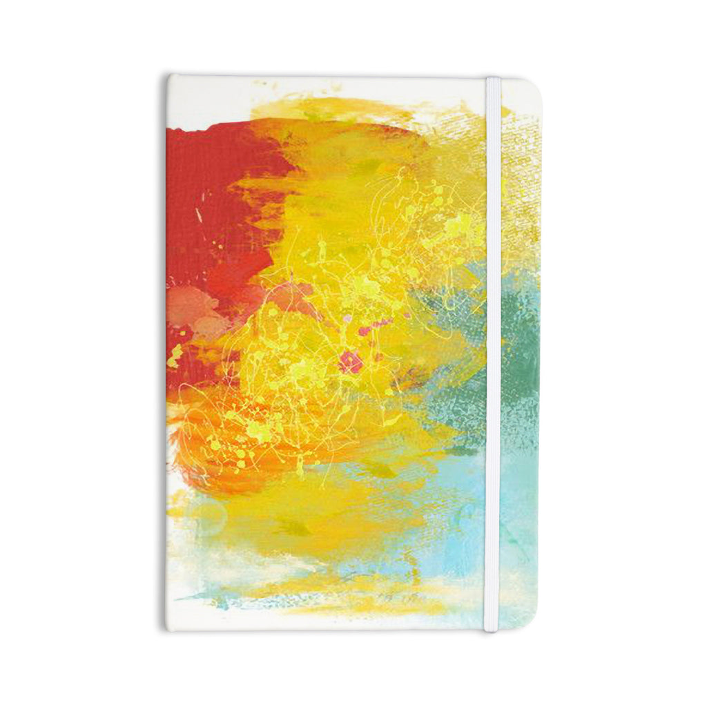 "Oriana Cordero ""Medley"" Colorful Paint Everything Notebook - KESS InHouse  - 1"