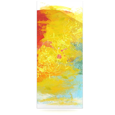 "Oriana Cordero ""Medley"" Colorful Paint Luxe Rectangle Panel - KESS InHouse  - 1"