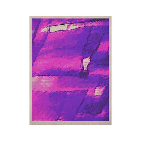 "Oriana Cordero ""Suenos en Purpura"" Purple Lavender KESS Naturals Canvas (Frame not Included) - KESS InHouse  - 1"