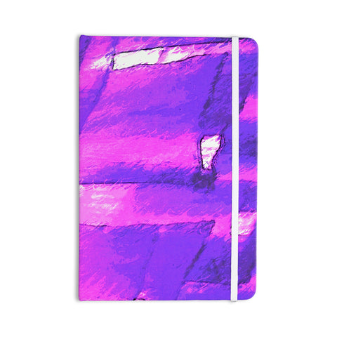 "Oriana Cordero ""Suenos en Purpura"" Purple Lavender Everything Notebook - KESS InHouse  - 1"