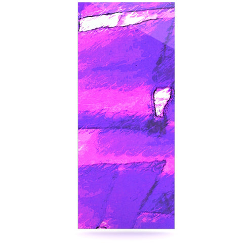 "Oriana Cordero ""Suenos en Purpura"" Purple Lavender Luxe Rectangle Panel - KESS InHouse  - 1"