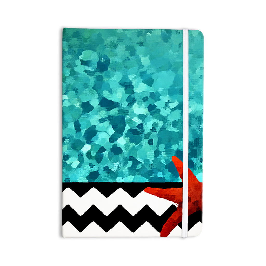 "Oriana Cordero ""Turquoise Ocean"" Blue Aqua Everything Notebook - KESS InHouse  - 1"