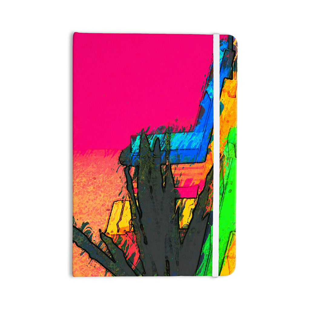 "Oriana Cordero ""Days of Summer"" Rainbow Abstract Everything Notebook - KESS InHouse  - 1"