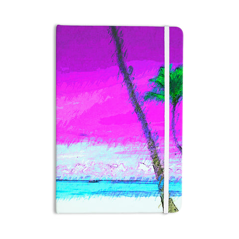 "Oriana Cordero ""Caribe S"" Pink Aqua Everything Notebook - KESS InHouse  - 1"