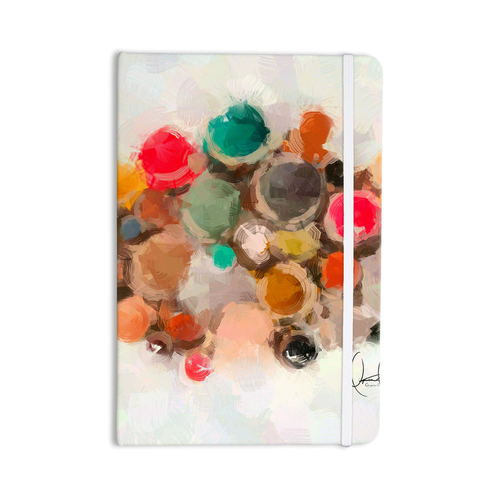 "Oriana Cordero ""La Maddalena"" Multicolor Abstract Everything Notebook - KESS InHouse  - 1"
