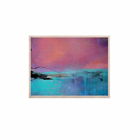 "Oriana Cordero ""Versailles-Abstract"" Pink Blue KESS Naturals Canvas (Frame not Included) - KESS InHouse  - 1"