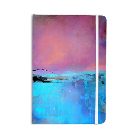 "Oriana Cordero ""Versailles-Abstract"" Pink Blue Everything Notebook - KESS InHouse  - 1"