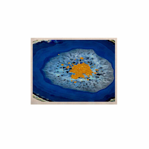 "Oriana Cordero ""Agate Blue"" Blue Orange KESS Naturals Canvas (Frame not Included) - KESS InHouse  - 1"