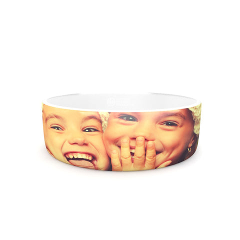 KESS Custom Printed Pet Bowl