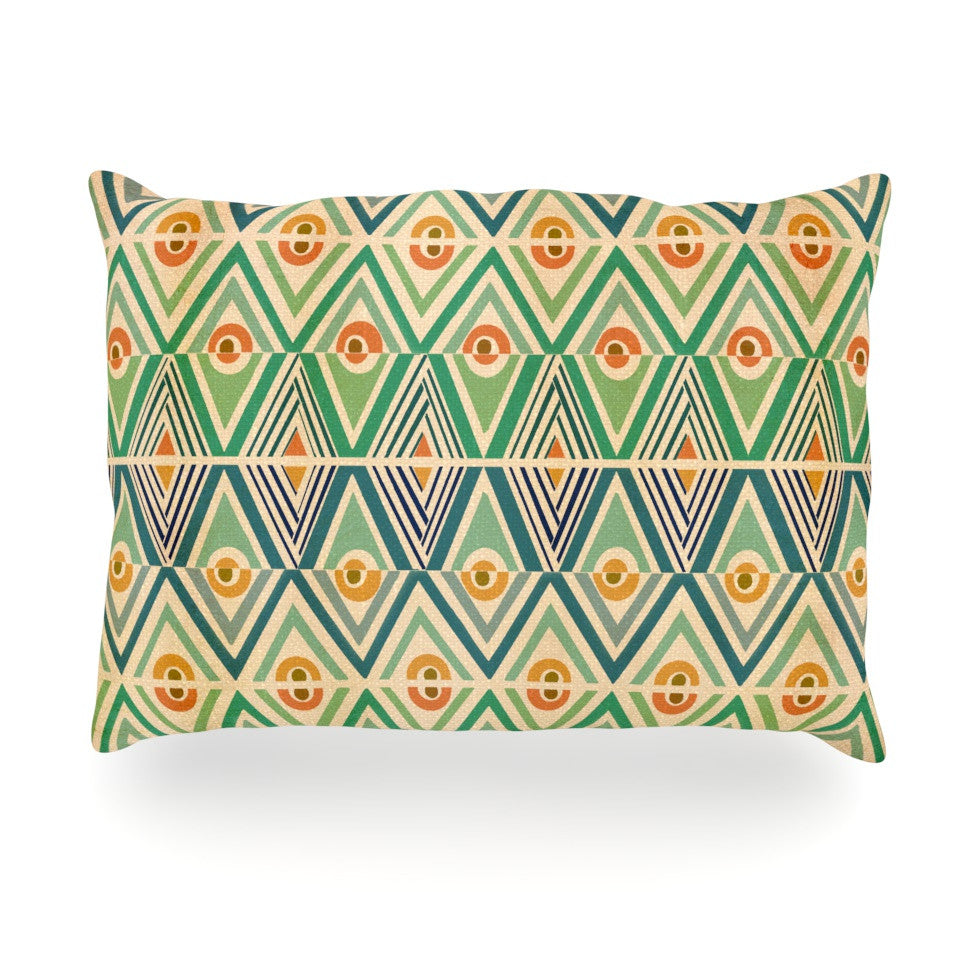 "Pom Graphic Design ""Celebration"" Oblong Pillow - KESS InHouse"