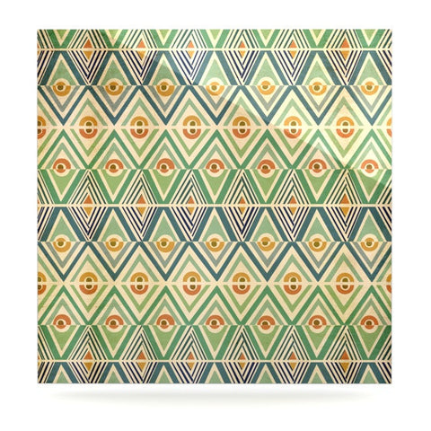 "Pom Graphic Design ""Celebration"" Luxe Square Panel - KESS InHouse  - 1"